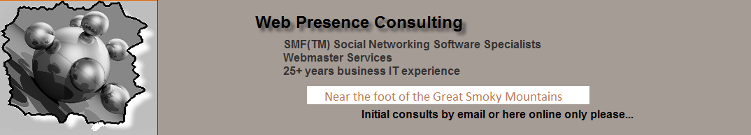 Web Presence Consulting - Home Page